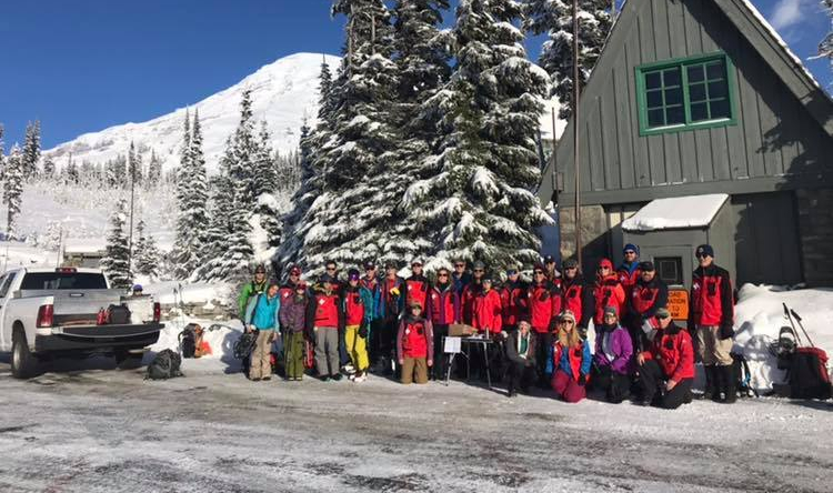 MT RAINIER NORDIC PATROL TEAM PHOTO